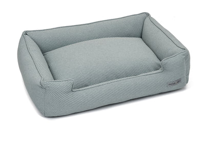 Bailey Mist Textured Woven Lounge Bed