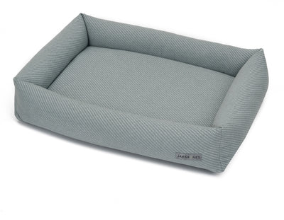 Bailey Mist Textured Woven Memory Foam Cuddler Bed