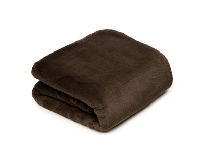 Mink Black Blanket - Small