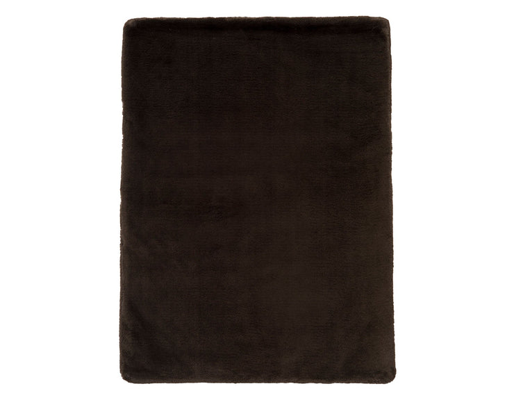 Mink Black Blanket
