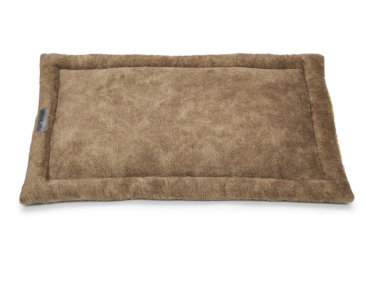 Bruno Taupe Poly Blend Cozy Mat