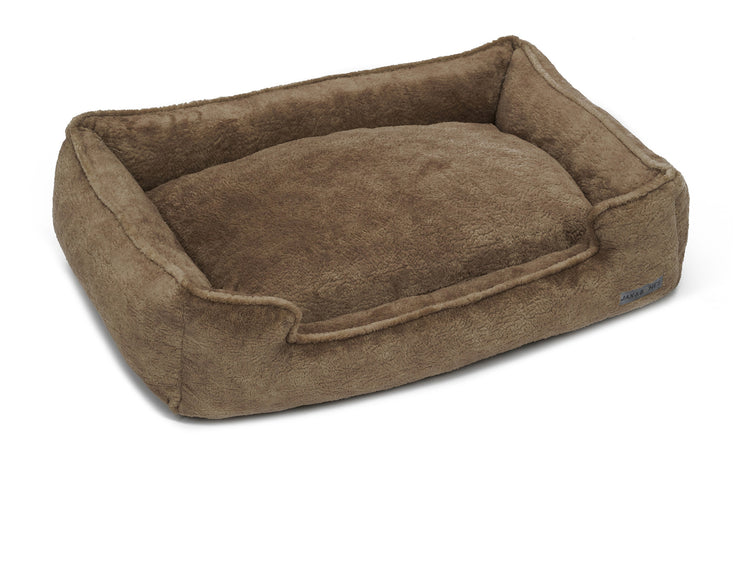 Bruno Taupe Poly Blend Lounge Bed