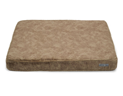 Bruno Taupe Poly Blend Memory Foam Pillow Bed