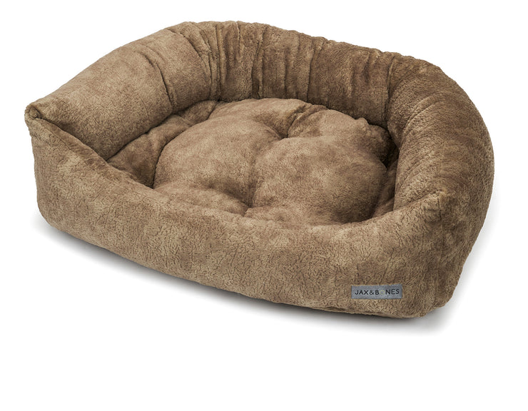 Bruno Taupe Poly Blend Napper Bed