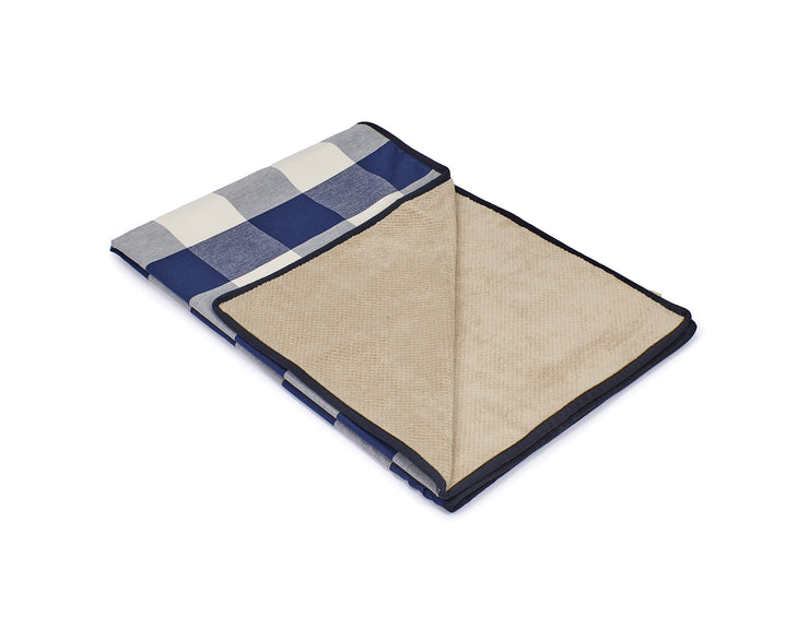 Buffalo Check Navy Blanket