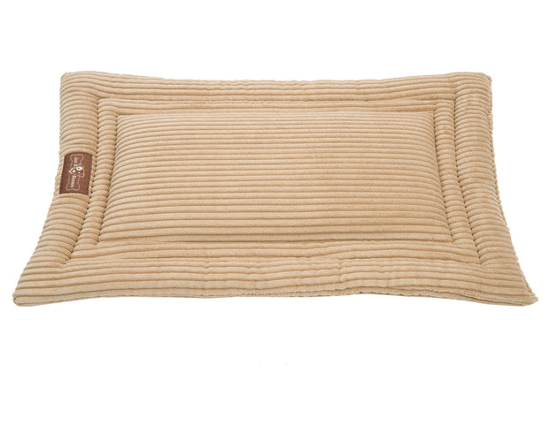 Honey Corduroy Cozy Mat