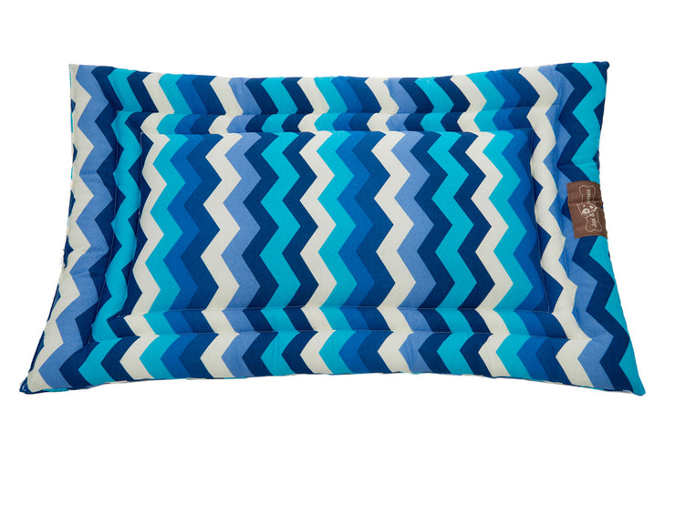 Wave Azure Cozy Mat
