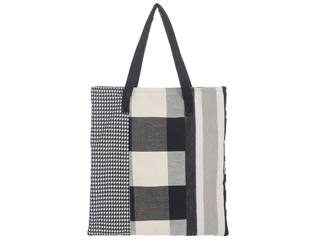Black and White Eco-Tote