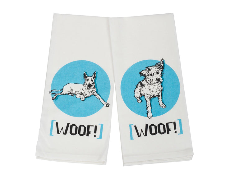 The Woofers Kitchen Towel Set