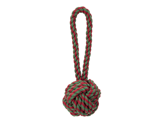 Holiday Knot Rope Dog Toy