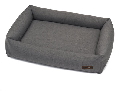 Lark Graphite Poly Blend Memory Foam Cuddler Bed