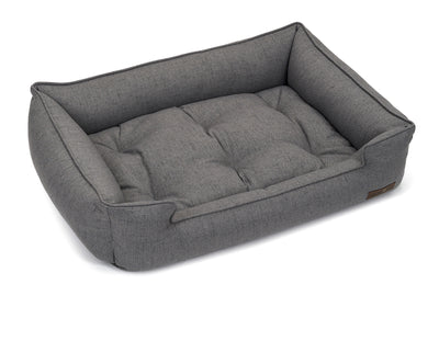 Lark Graphite Poly Blend Sleeper Bed