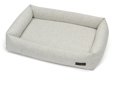 Lark Ivory Poly Blend Memory Foam Cuddler Bed