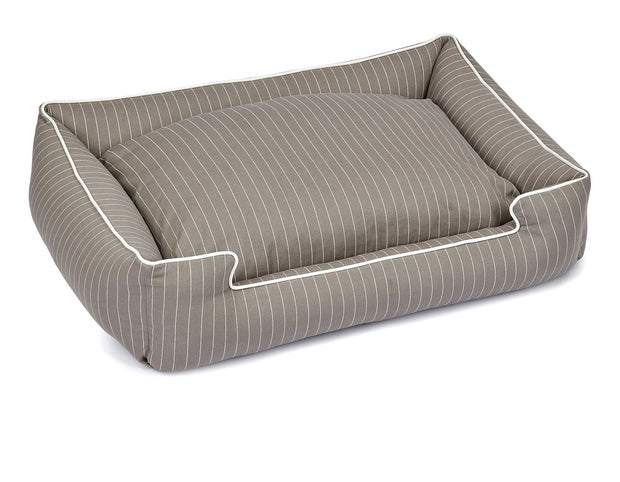 Jean Stripe Shadow Canvas Lounge Bed