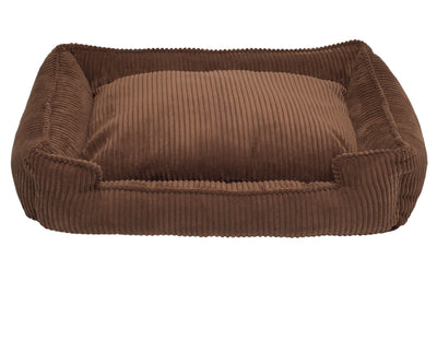 Chocolate Corduroy Lounge Bed