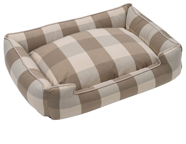 Buffalo Check Puddy Lounge Bed