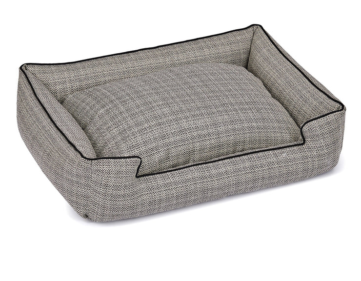 Rail Domino Textured Woven Lounge Bed