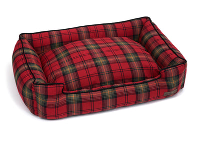 Heritage Plaid Lounge Bed