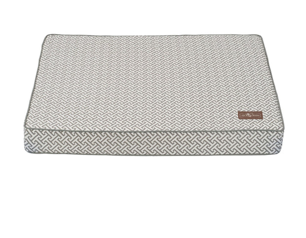 Hera Grey Memory Foam Pillow Bed