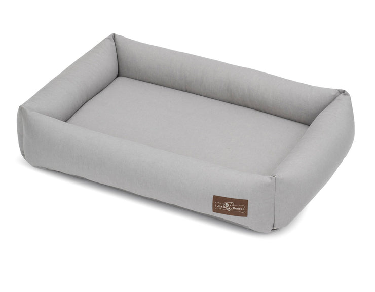 Levi Grey Cuddler Memory Foam Bed