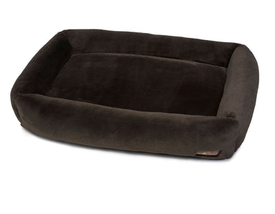 Mink Black Memory Foam Cuddler Bed