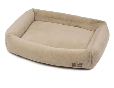 Mink Creme Memory Foam Cuddler Bed
