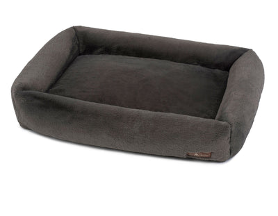 Mink Grey Memory Foam Cuddler Bed