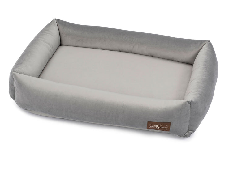 Vintage Seal Grey Memory Foam Cuddler Bed