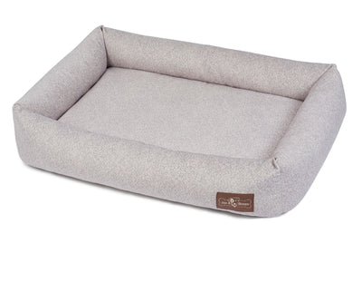 Herringbone Horizon Memory Foam Cuddler Bed