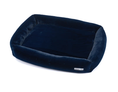 Mink Navy Memory Foam Bed Cuddler Bed