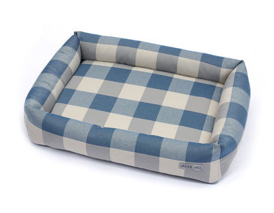 Checker Mercury Memory Foam Cuddler Bed