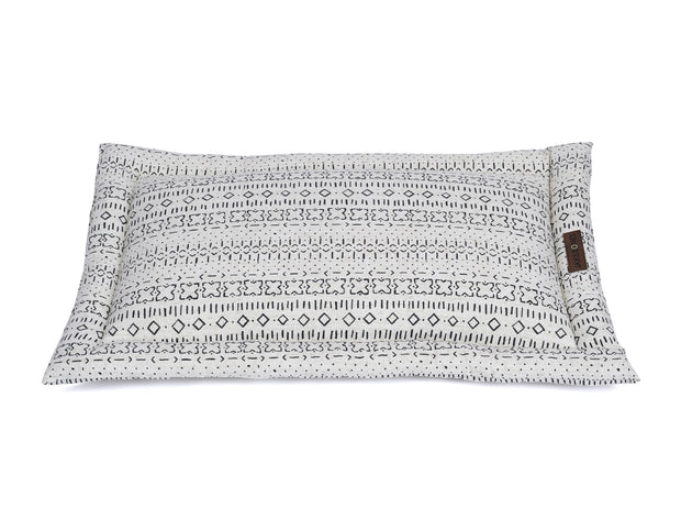 Mudcloth Ivory Everyday Cotton Cozy Mat