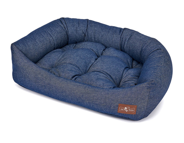 Levi Ink Canvas Napper Bed