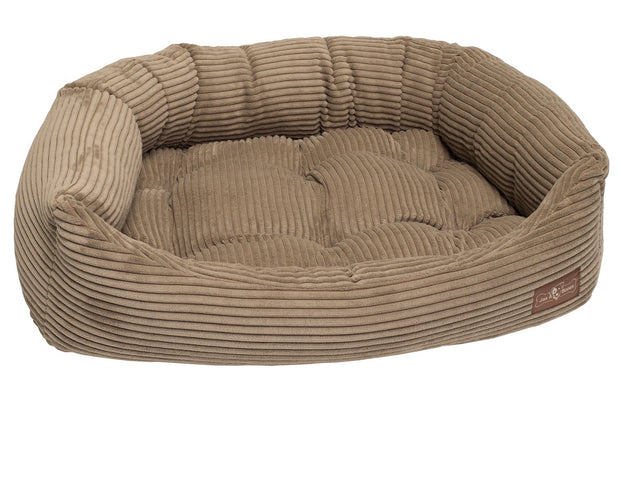 Honey Corduroy Napper Bed