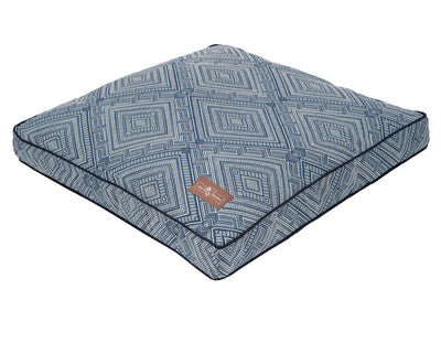 Gatsby Blue Pillow Bed