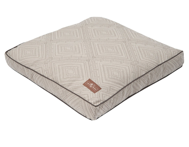 Gatsby Grey Pillow Bed