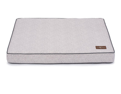 Herringbone Horizon Memory Foam Pillow Bed