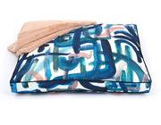 Brushstroke Rectangle Pillow Bed