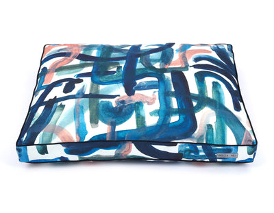 Brushstroke Rectangular Pillow Bed