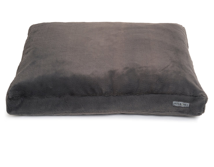 Mink Grey Rectangular Pillow Bed