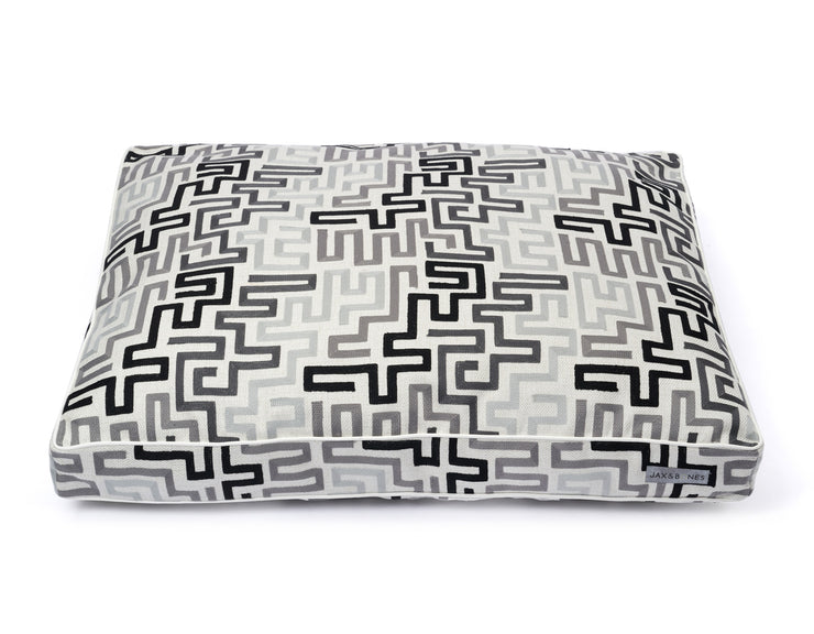 Maze Rectangle Pillow Bed