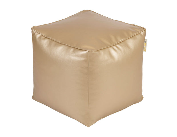 Glam Gold Pouf