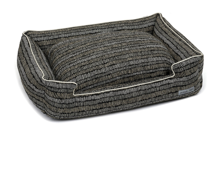 Scribble Black Lounge Bed