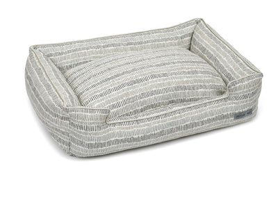 Scribble Crème Textured Woven Lounge Bed