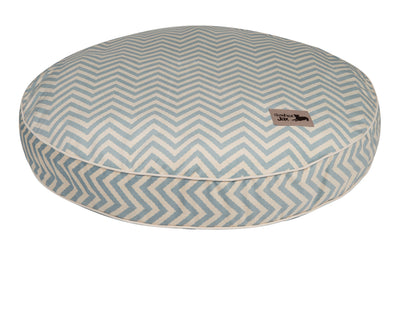 Vibe Blue Round Pillow Bed