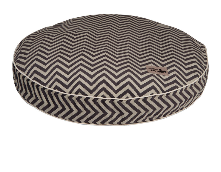 Vibe Grey Round Pillow Bed