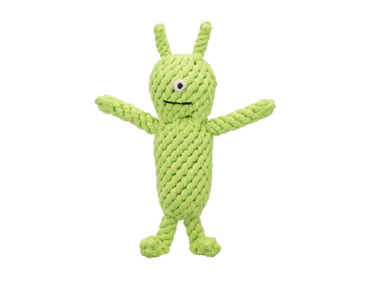 "Norman the Alien 10"" Rope Dog Toy"