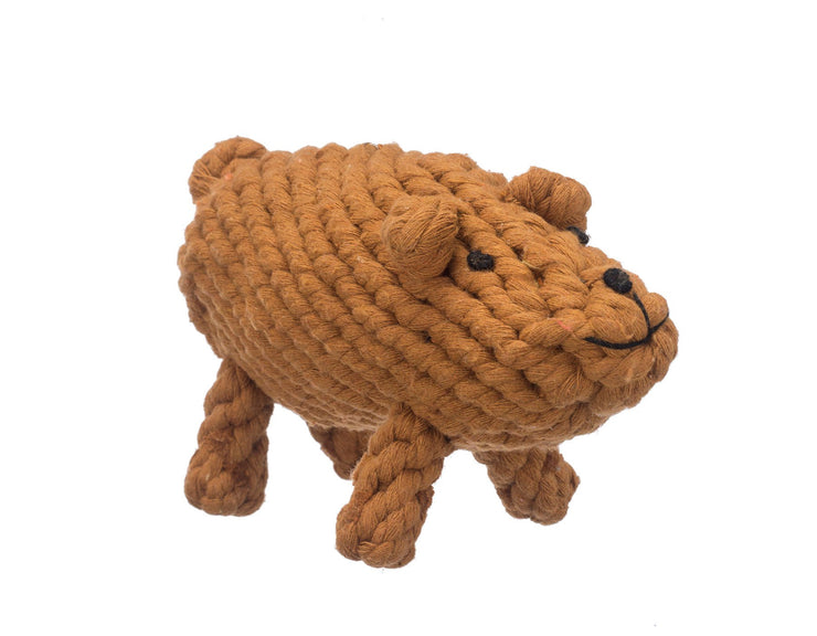 "Brooks The Boar 8"" Rope Dog Toy"