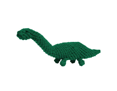 Brent the Brontosaurus Rope Dog Toy
