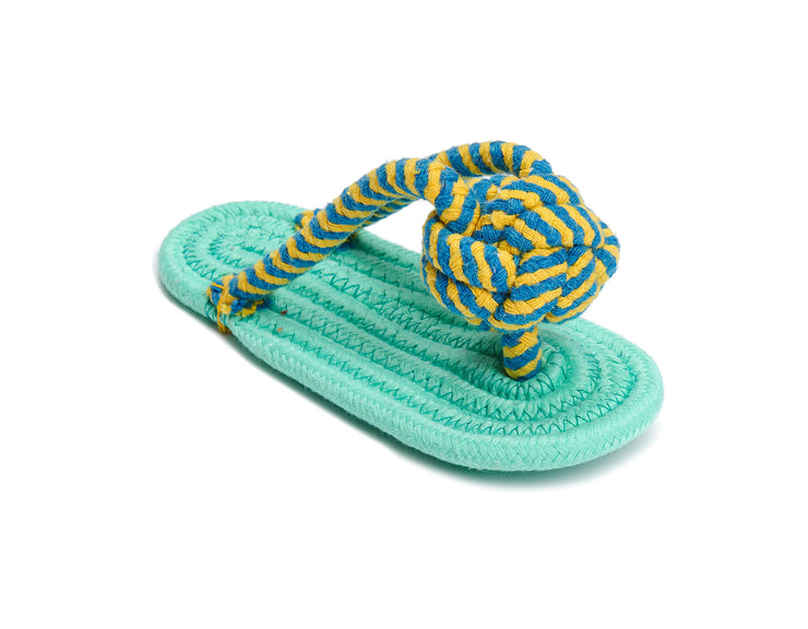 "Flip Flop 9"" Rope Dog Toy"